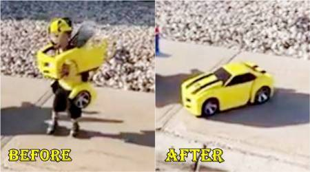 WATCH: These three children's 'Transformers' costumes just blew Twitterati's minds