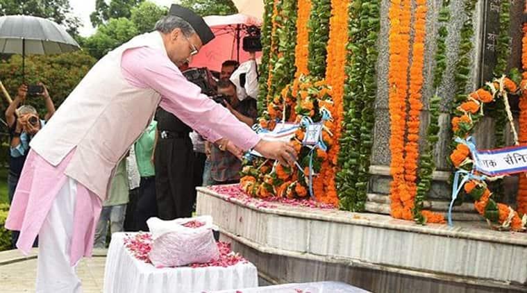 Uttarakhand CM Trivendra Singh Rawat pays tribute to Army jawan