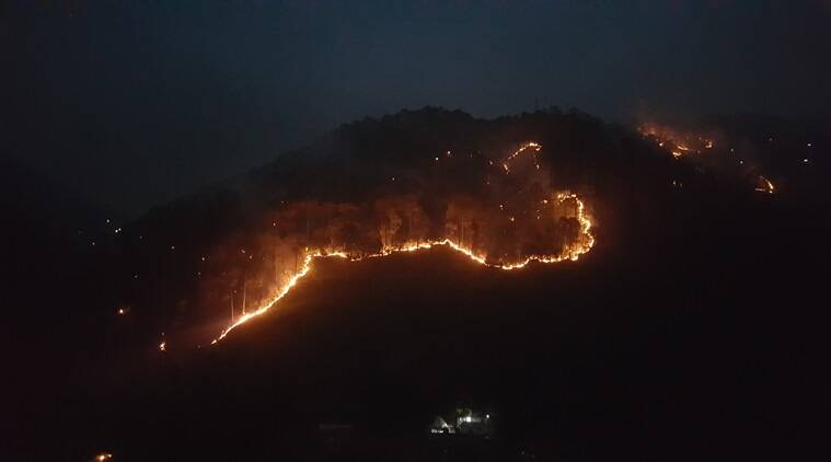 282 fire points in Uttarakhand in seven days