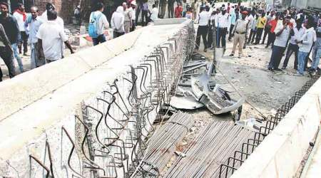 Varanasi bridge collapse: Five warning letters were sent to flyover firm but no one read