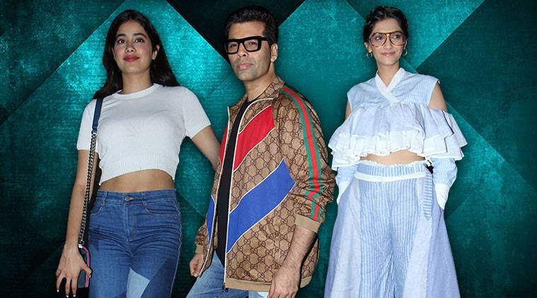 Sonam Kapoor, Sonam Kapoor Veere Di Wedding, Sonam Kapoor fashion, Sonam Kapoor latest photos, Sonam Kapoor Anand Ahuja, Sonam Kapoor Rahul Mishra, Janhvi Kapoor, Karan Johar, indian express, indian express news