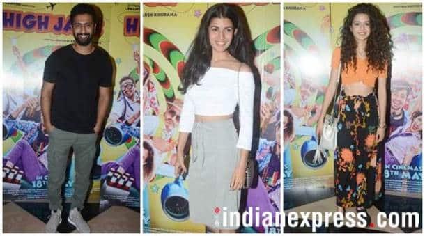 Vicky Kaushal, Nimrat Kaur, Mithila Palkar High Jack special screening