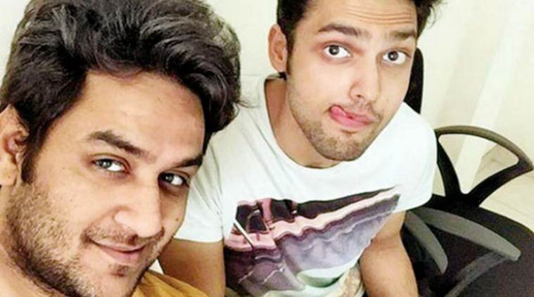 Image result for parth samthaan and vikas gupta