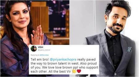 Vir Das' tweet on Priyanka Chopra wins hearts on social media