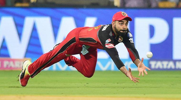 IPL 2018, Indian Premier League, IPL 2018 catches, IPL 2018 matches, Virat Kohli, Hardik Pandya, Trent Boult, sports news, IPL news, cricket, Indian Express