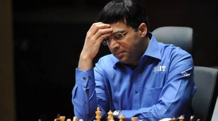 Viswanathan Anand tied fourth after first day of rapid chess event