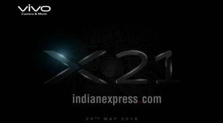 Vivo X21 with in-display fingerprint scanner coming to India on May 29