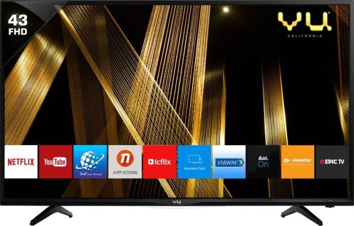 Vu 109cm Full HD LED Smart TV