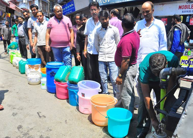 Shimla water crisis: Availability improving, efforts are on to ensure smooth supply, say officials
