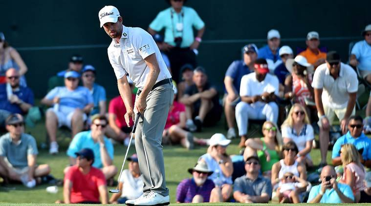 Webb Simpson ties course record, takes 5-shot lead at Players