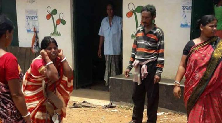 West Midnapore: Woman made to do squats holding ears in front of TMC office