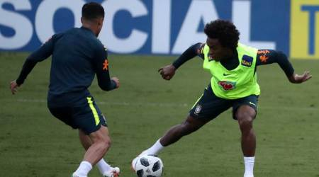 Brazil tests Willian up front with Neymar and Gabriel Jesus ahead of World Cup