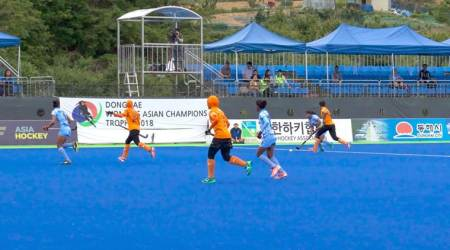 Indian women hockey team in final of Asian Champions Trophy