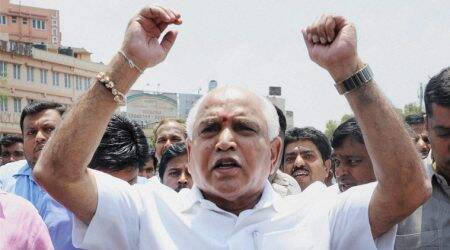 BJP observes 'black day' against JDS-Congress coalitiongovernment