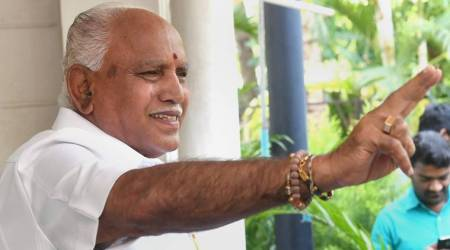 Karnataka assembly elections: BJP's twitter flip-flop over BSY's swearing-in adds to drama