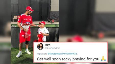 IPL 2018: Fanboy moment! Yuvraj Singh meets 11-year-old cancer patient and wins hearts