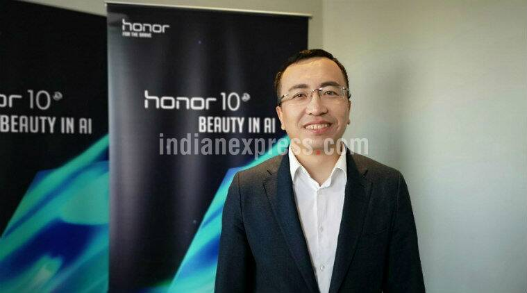 Honor, George Zhao Honor, Honor 10 launch, Honor India plans, Honor 10 price in India, Honor 10 specifications, Honor 10 offers