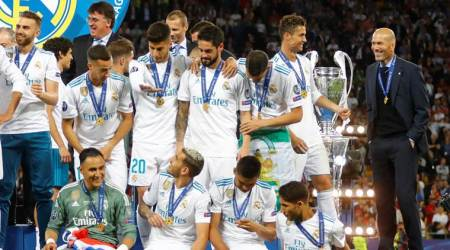 Real Madrid is a 'legendary' club, says Zinedine Zidane after Champions League win