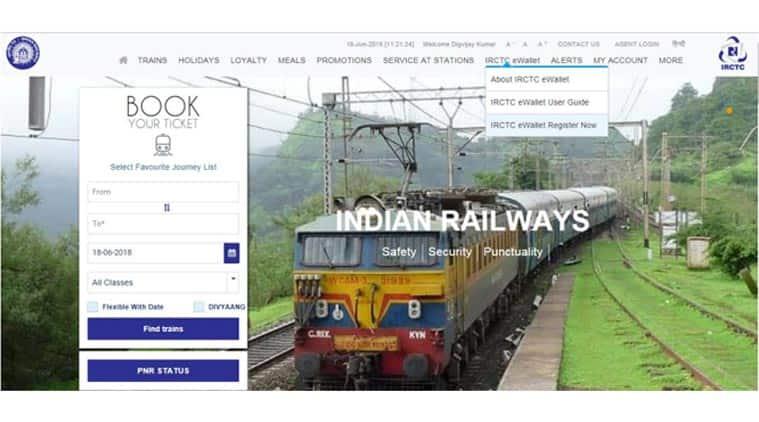 indian railways, irctc.co.in, irctc ewallet, irctc app, irctc rail connect android app, irctc ewallet tatkal ticket booking, irctc ewallet how to register, irctc, irctc app, indian railways apps