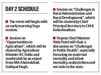 Chintan Shivir begins: Prepare 10-point roadmap for taking prompt decisions, Vijay Rupani tells Depts