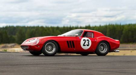 Speeding to auction record? 1962 Ferrari could fetch $45 million