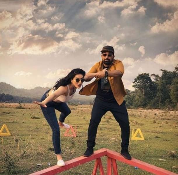 sunny leone and rannvijay singha on Splitsvilla Season 11