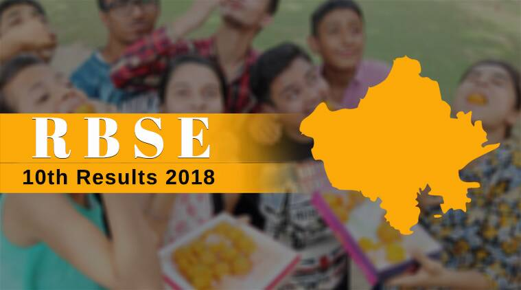 rbse, bser, rbse 10th result 2018, rajresults.nic.in, bser result 2018
