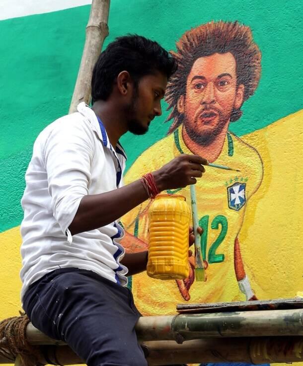 FIFA World Cup 2018 fever grips India