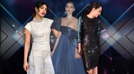sonam kapoor, priyanka chopra, karisma kapoor, fashion live blog, daily fashion updates, indian express, indian express news