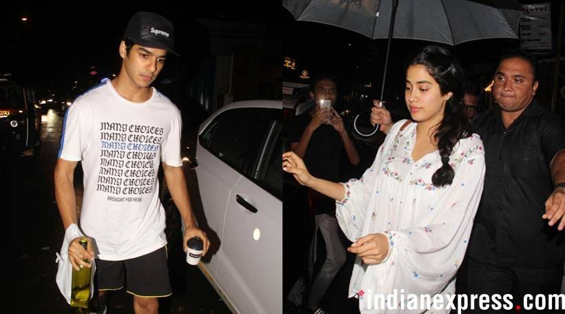 janhvi kapoor and ishaan khatter together
