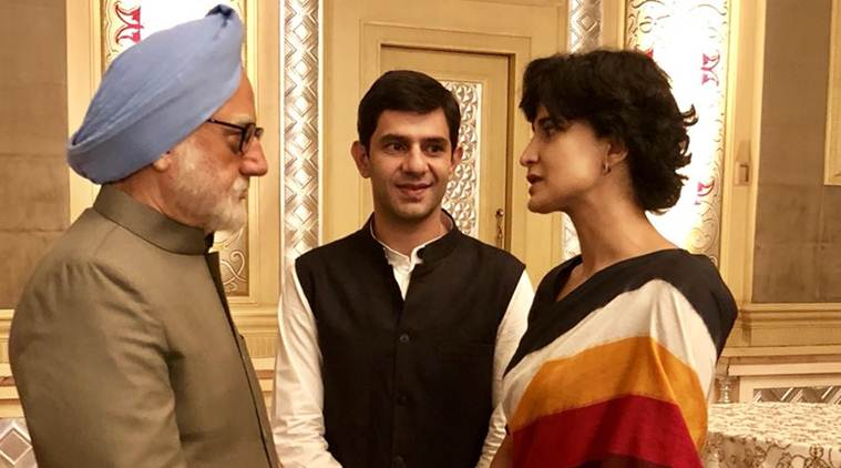 aahana kumra in the accidental prime minister