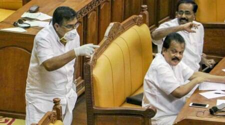 Kerala MLA Parakkal Abdulla stirs up storm wearing mask, gloves in assembly