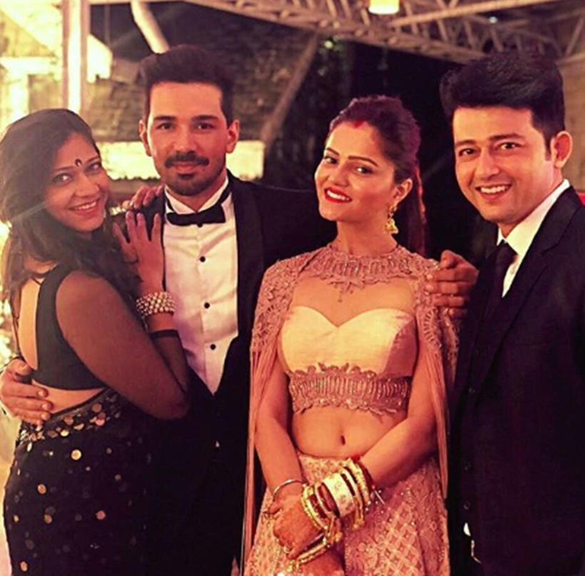 Unseen Photos From Rubina Dilaik Abhinav Shuklas Wedding And