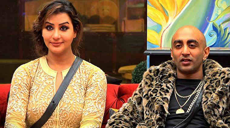 Acash Dadlani and Shilpa Shinde