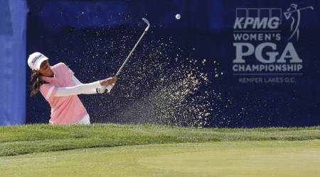 Aditi Ashok makes strong start in Women's PGA Championships
