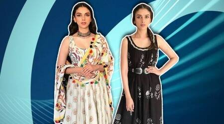 Aditi Rao Hydari's attires for 'Sammohanam' promotions are the perfect pick for summers
