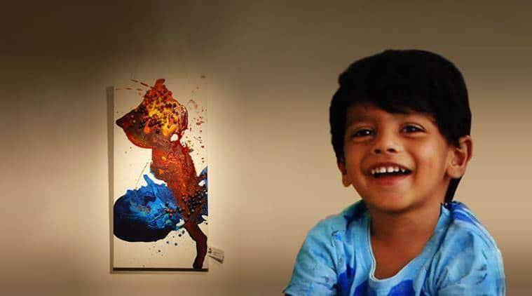 Advait Kolarkar, artist prodigy, pune artist, pue artist prodigy, indian express, indian express news