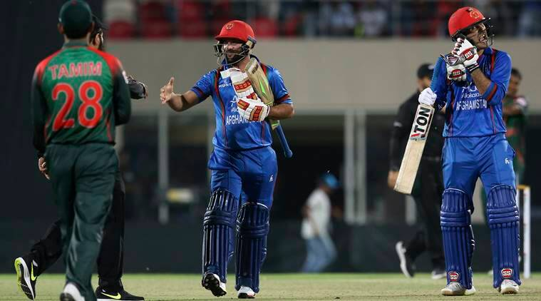 Afghanistan hold their nerve to sweep Bangladesh