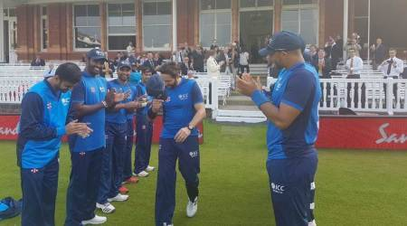 World XI vs West Indies T20: Shahid Afridi receives guard of honour as he bids farewell to International career