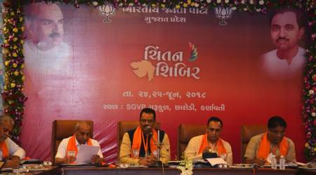 Gujarat: BJP's Chintan Shivir has 10-point agenda on winning all 26 Lok Sabha seats