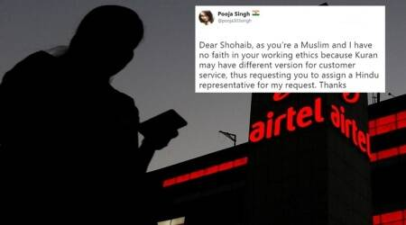 Woman asks Airtel's customer service for 'Hindu representative', Twitterati seethe