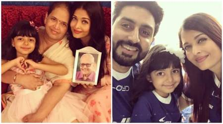 Aishwarya Rai Bachchan shares adorable photos on Father's Day