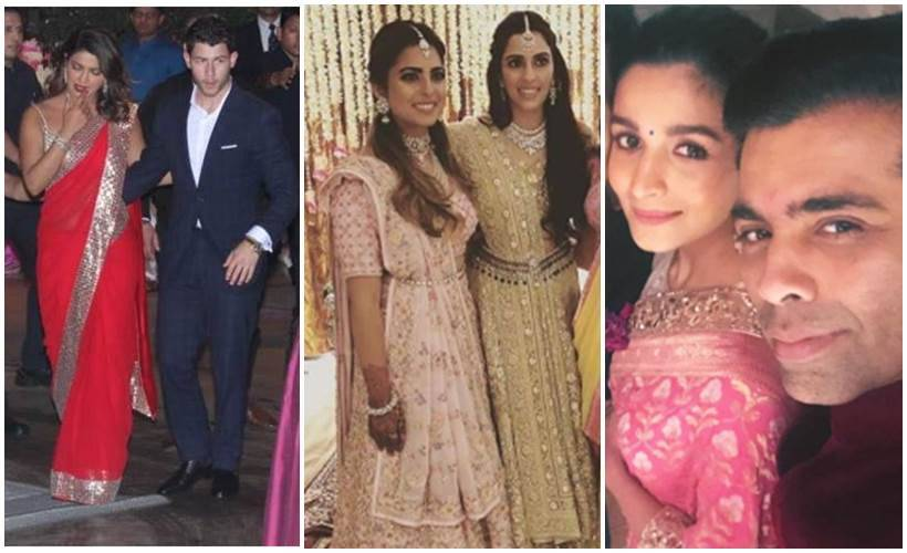 Akash Ambani pre-engagement party Priyanka Chopra and Nick Jonas