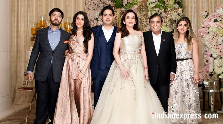 Akash Ambani Shloka Mehta engagement invitation, Akash Ambani Shloka Mehta engagement, Ambani engagement party, Akash Ambani engagement, Video invite Akash Ambani, Shuhaarambh ambani engagement card, indian express, indian express news