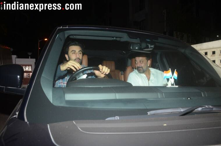 ranbir kapoor, sanjay dutt party