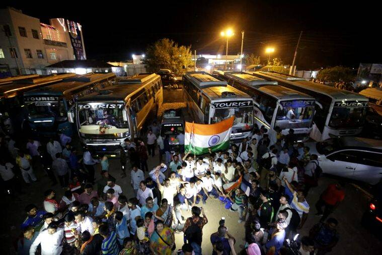Amarnath yatra, Amarnath yatra begins, Amarnath yatra security, jammu and kashmir, amarnath yatra pilgrims, CRPF personnel, Nunwan base camp, pilgrimpage trip, Kashmir Anantnag district, amarnath, India news