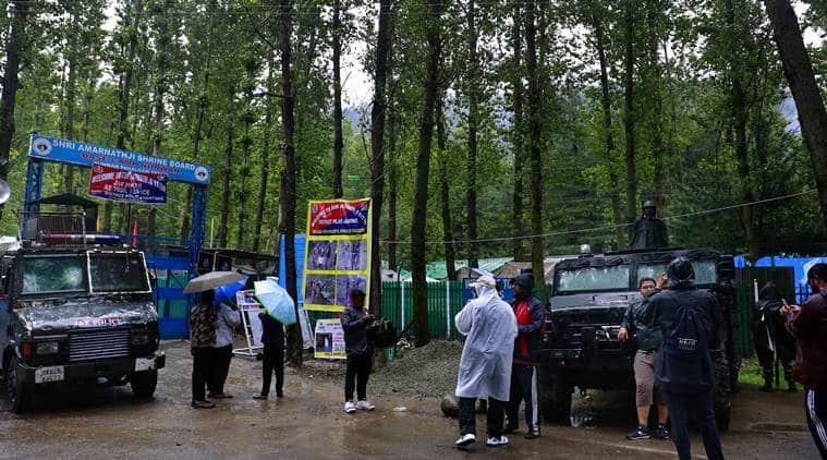 Amarnath yatra, Amarnath Yatra 2018, Amarnath yatra security, Amarnath yatra pilgirimage, Mahagun range, Amarnath Yatra route, Amarnath Yatra trek, Jammu and Kashmir, Amarnath Yatra rains,