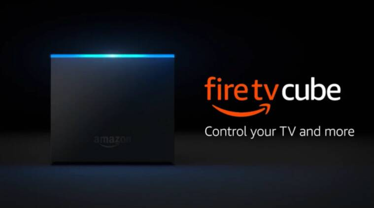 Amazon, Amazon Fire TV Cube, Fire TV Cube with Alexa, Amazon Fire TV Cube speakers, Fire TV Cube price in India, Amazon Fire TV Cube services, Fire TV Cube specifications, Amazon Prime, Amazon news