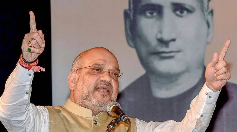 Congress censored national anthem to suit its policy of appeasement: Amit Shah