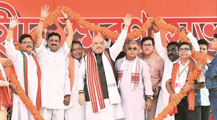 Sounds of Rabindrasangeet are getting drowned in bomb blasts: Amit Shah in Purulia